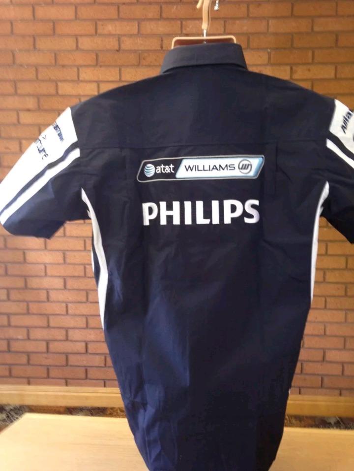 camisa mc gregor escudería williams oficial f1. Cargando zoom. eede059f082