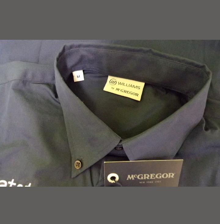 Camisa Mc Gregor Escudería Williams Oficial F1 -   3.290 bef9c72452c