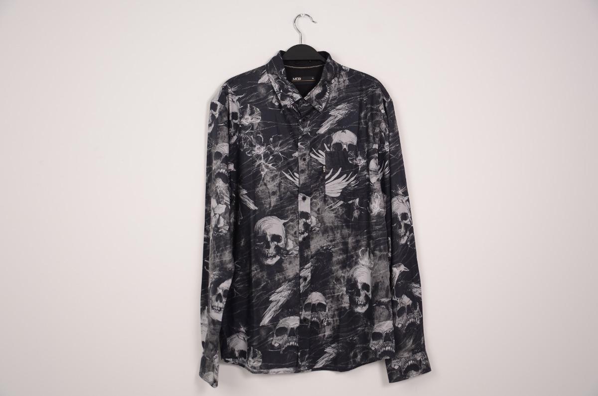 22a14fddf5703 camisa mcd manga longa desert lines coleção inverno 17 preto. Carregando  zoom.