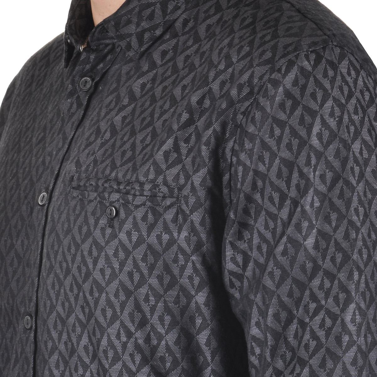 7235f685844cf camisa mcd wallpaper - cut wave. Carregando zoom.