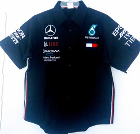 8d0da49519661 Camisa Mercedes Benz Petronas F1 Formula Uno Modelo 2019