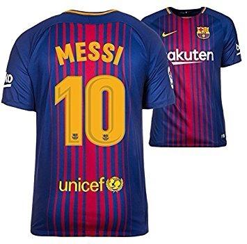 d38a3db65ff32 Camisa Messi Barcelona 2017 2018 Champions League
