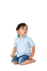 a33d0f11c Camisa Mi Patricio Manga Corta Para Bebé / Niño / Hijo