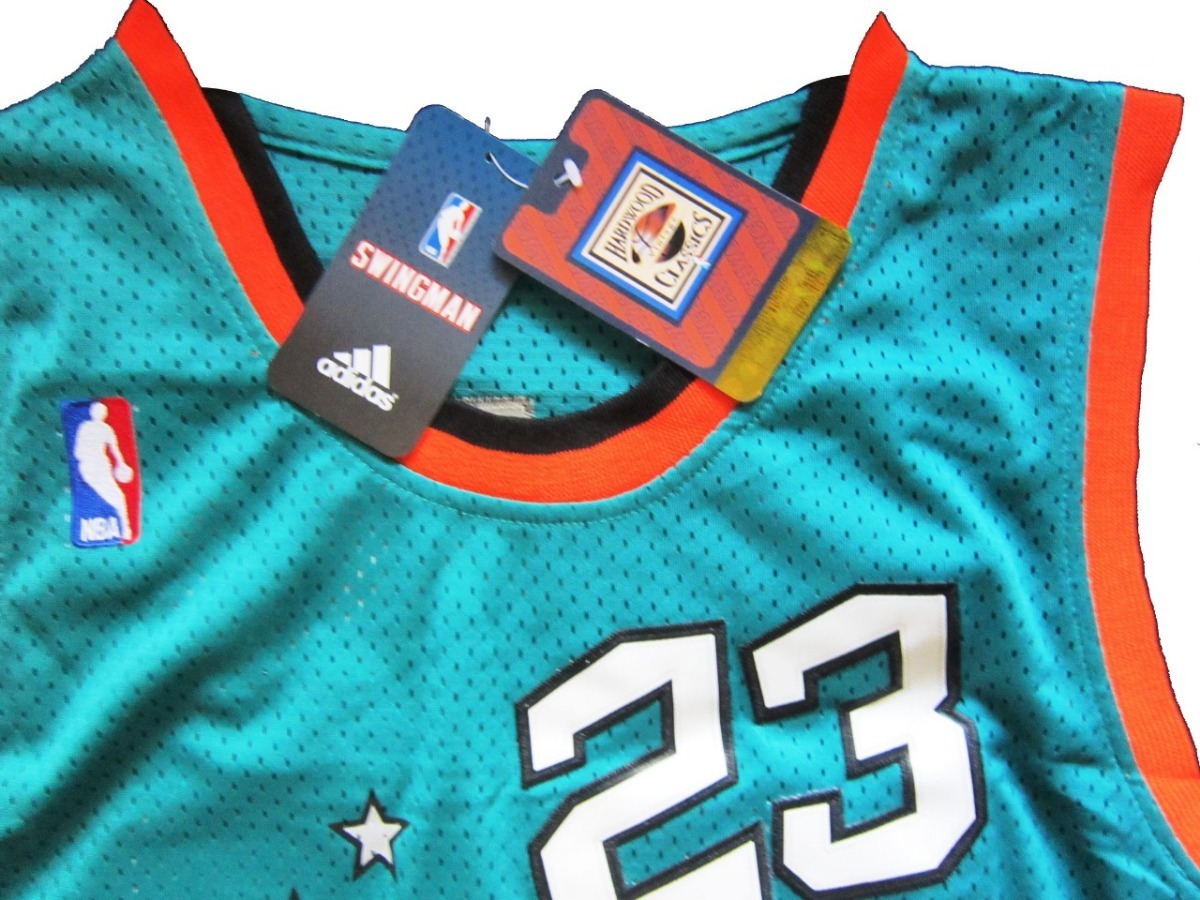 camisa michael jordan chicago bulls all star game 1996. Carregando zoom. 6635911be63