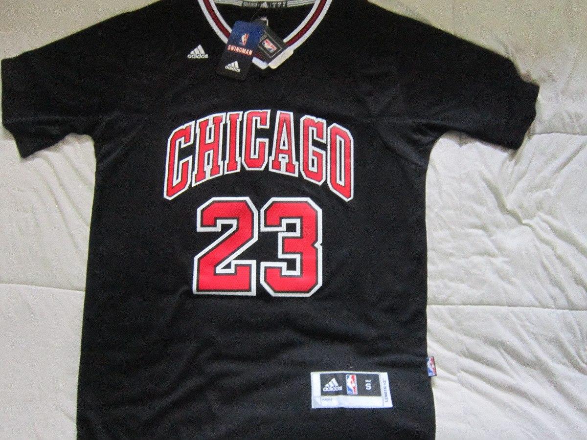 54148ba2cb1 camisa michael jordan chicago bulls com mangas. Carregando zoom.