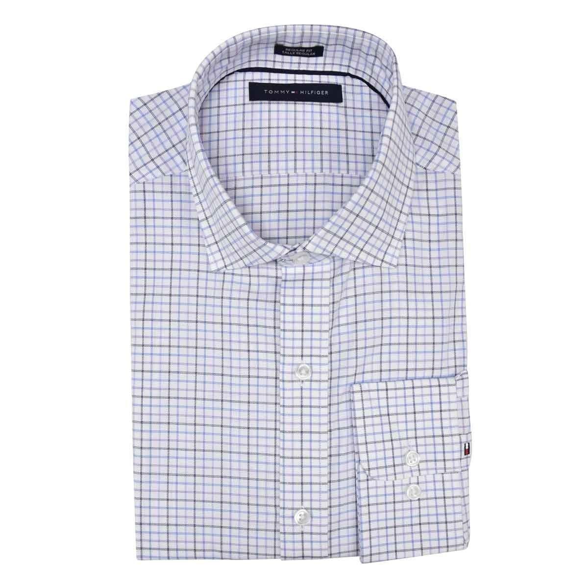 bd058779f7 Camisa Microcuadros Tommy Hilfiger -   1
