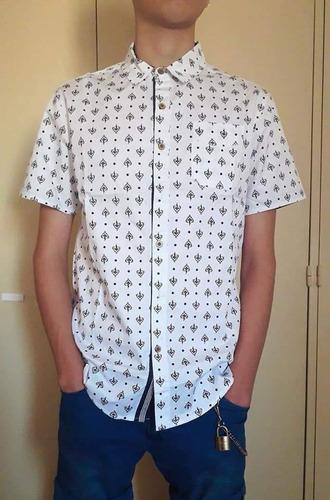 camisa microgabardina importada