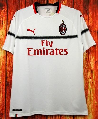 Camisa Milan 2018 2019 Away Uniforme 2 Higuaín Cutrone Suso - R  125 ... c85f13058280a