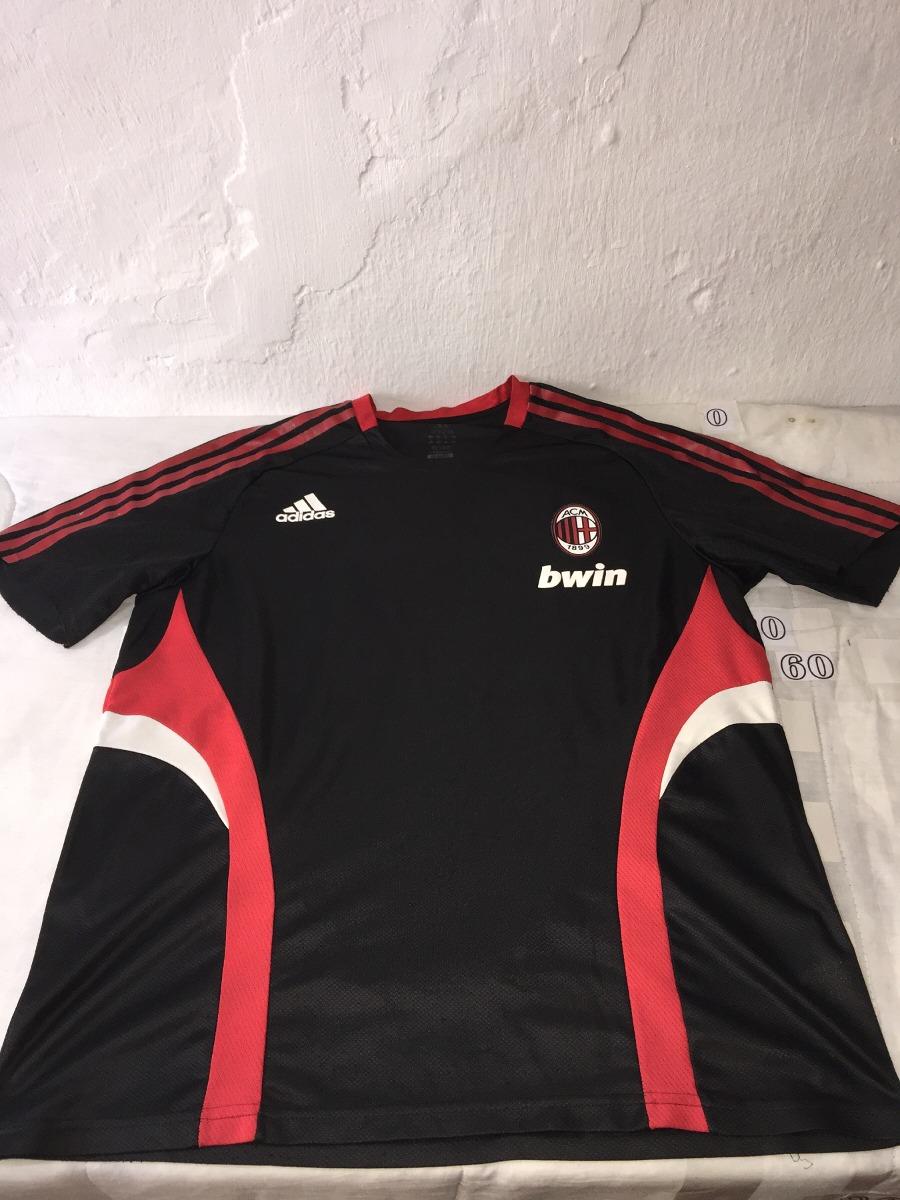 Camisa Do Milan Da Itália De Treino - R  49 de794ded10033