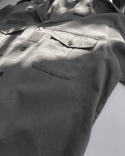 camisa militar  ejercito frances noraude trebes 1988