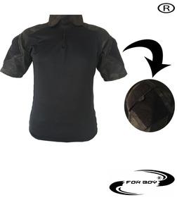 cf8b5befd01d0 Camisa Esquadra Polo Manga Curta Masculino - Camisas Verde no Mercado Livre  Brasil