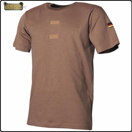 camisa militar tan areia exercito alemão p/ colete (tamanhos