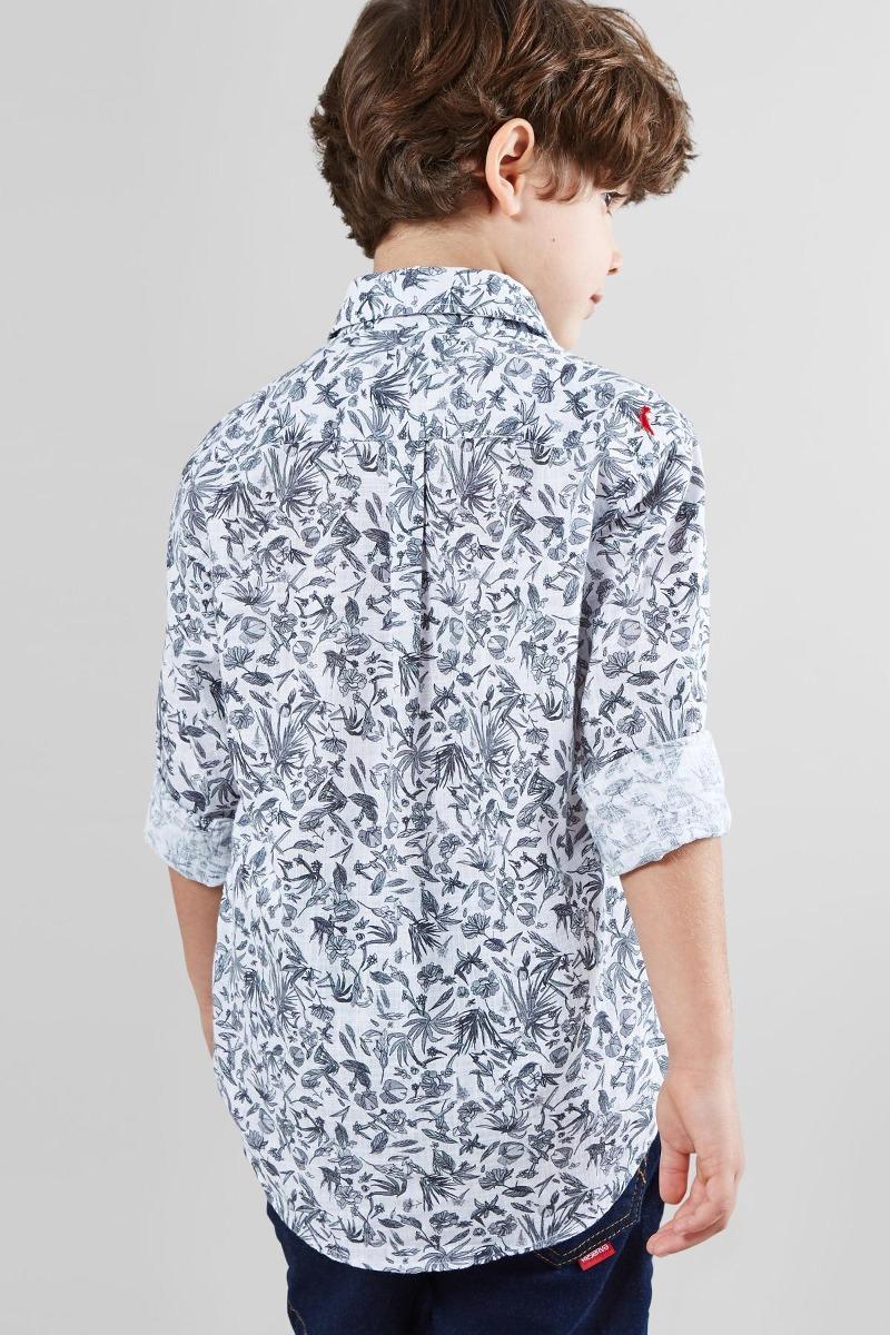 camisa mini pf ml floral carnaval micro reserva mini. Carregando zoom. 62c319f667e