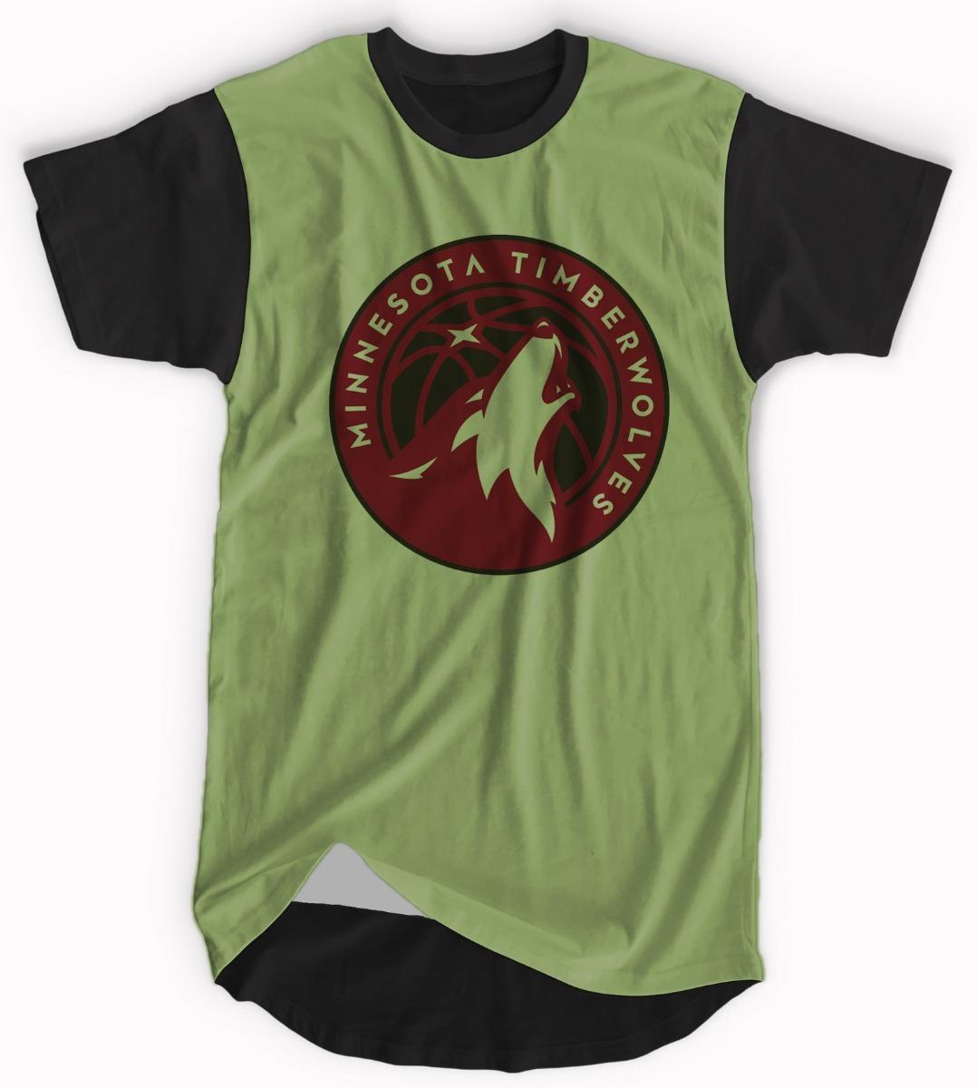 712e2af4da33b camisa minnesota timberwolves longline basquete blusa verde. Carregando  zoom.