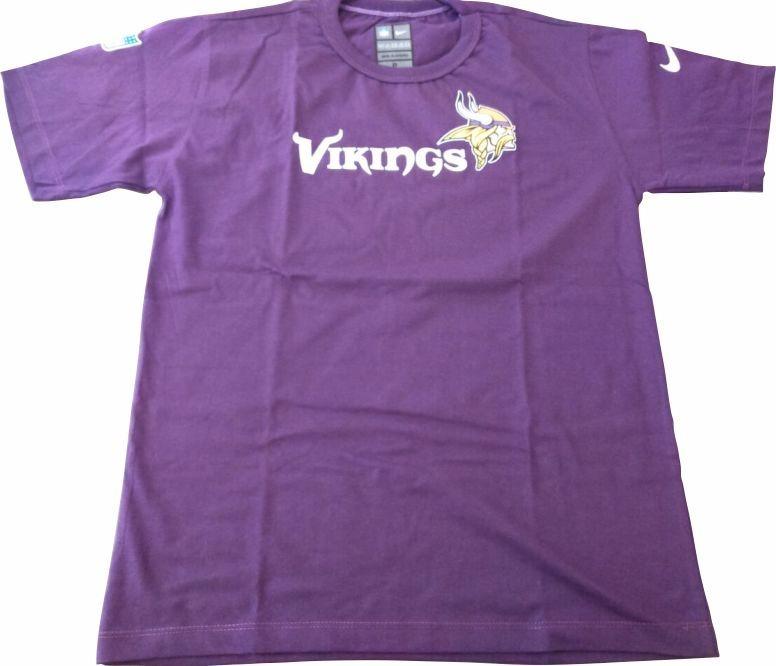 d9a3218cc Camisa Minnesota Vikings Nfl Malha - R  45