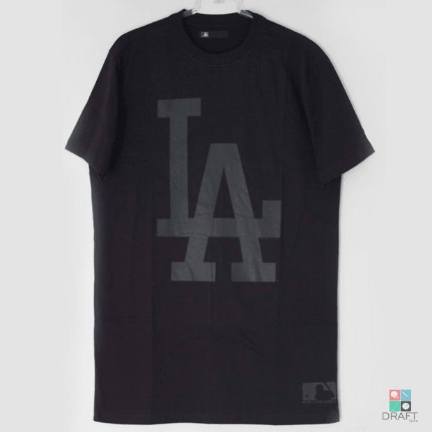 Camisa Mlb Los Angeles Dodgers New Era Tshirt Draft Store - R  82 77c3a8235a6