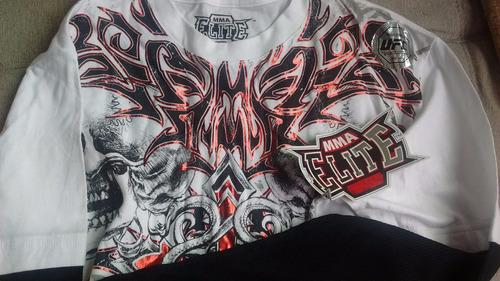 camisa mma elite - manga longa - original