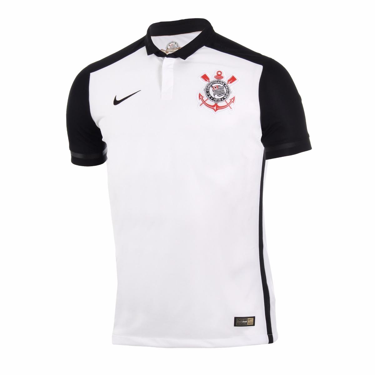 f45d8b2bd5 camisa modelo jogador corinthians nike 2015 branca timão. Carregando zoom.