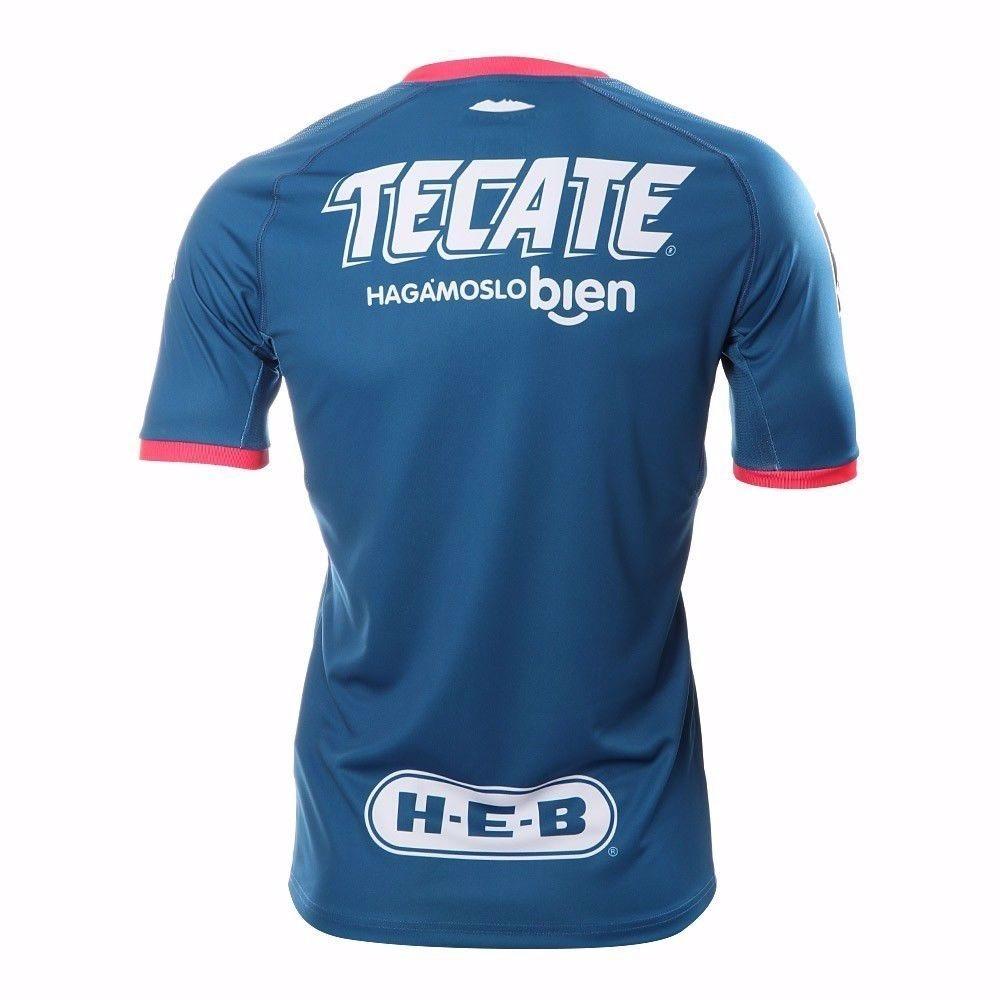 camisa monterrey uniforme 2 2018 2019 frete grátis. Carregando zoom. d52d383a704ac