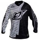 camisa motocross pro tork prt cinza