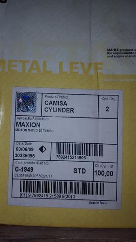 camisa motor d-20/silverado/gmc 6.100 maxion s4t