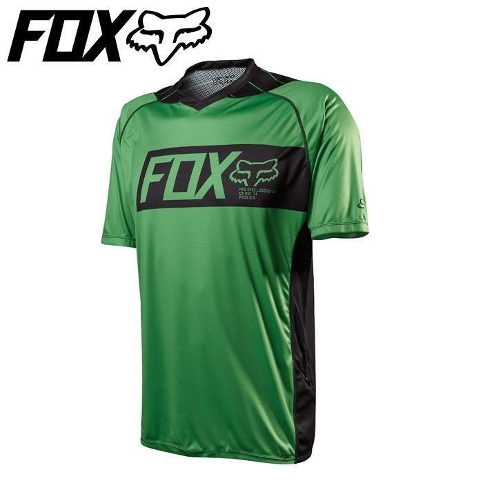210c8678f7eba Camisa Mountain Bike Fox Mtb Attack Green - R  230