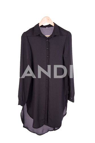 camisa mujer larga