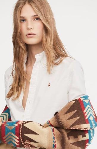camisa mujer polo ralph lauren 100% originales.