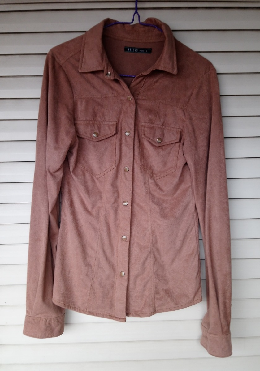17446b4196a talle xs zoom Cargando 1 camisa impecable mujer krisys durazno marca tela  OqwxptH