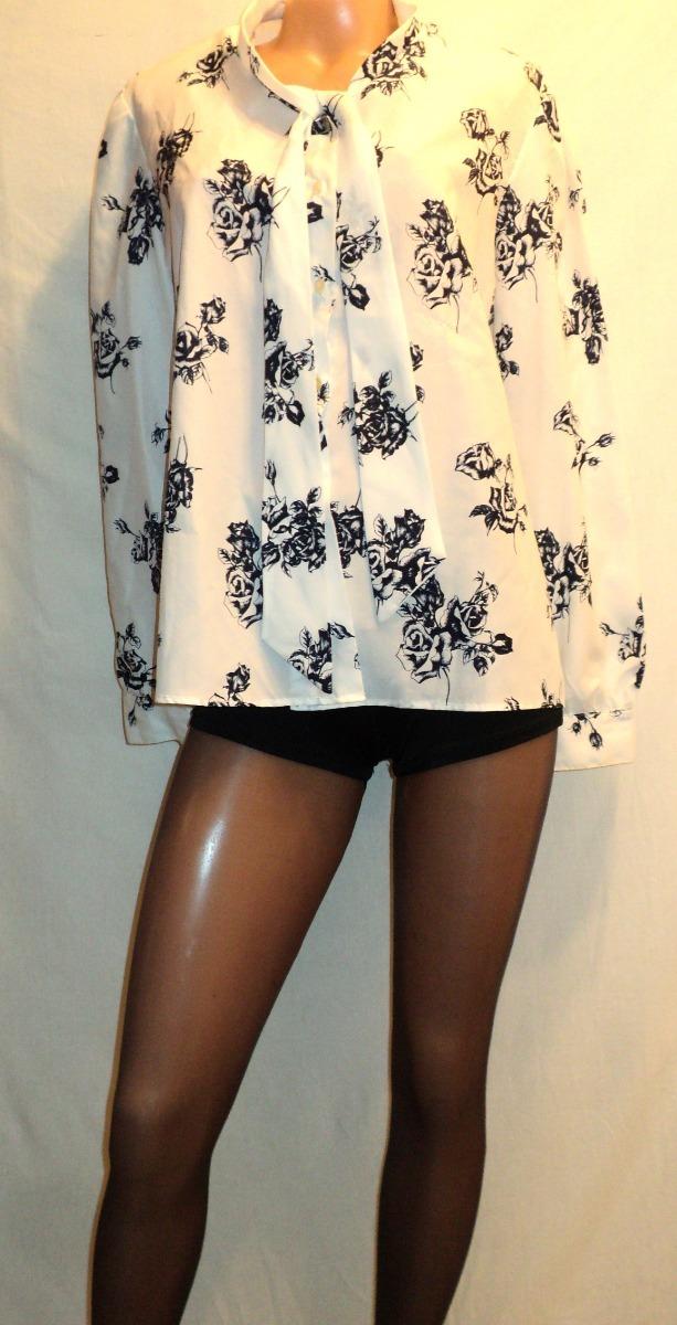 eb7c7edf37 Cargando vintage camisa vestir mujer sachas talla estampada zoom año 48 80  HAxPAFq6w
