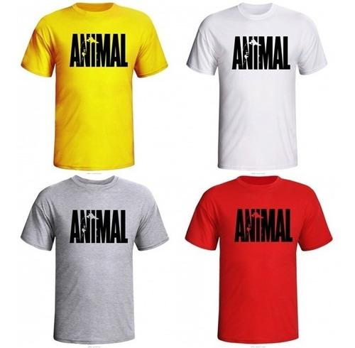 camisa musculação animal_pak_com manga