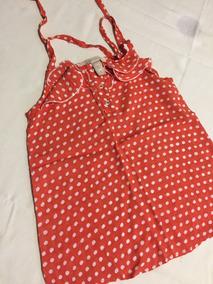 10f2b8132 Camisa Roja A Lunares Blancos - Ropa y Accesorios en Mercado Libre ...
