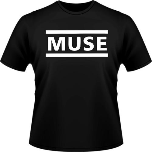 camisa muse rock banda personalizada camiseta manga curta