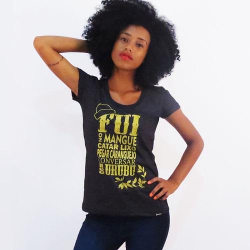 camisa nação zumbi mangue - camiseta chico science