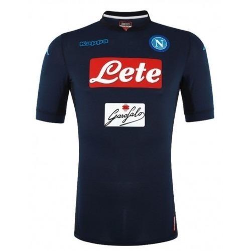 Camisa Napoli Time Italiano Camiseta Napoli Italia Futebol - R  87 ... e61ed9dac5a29