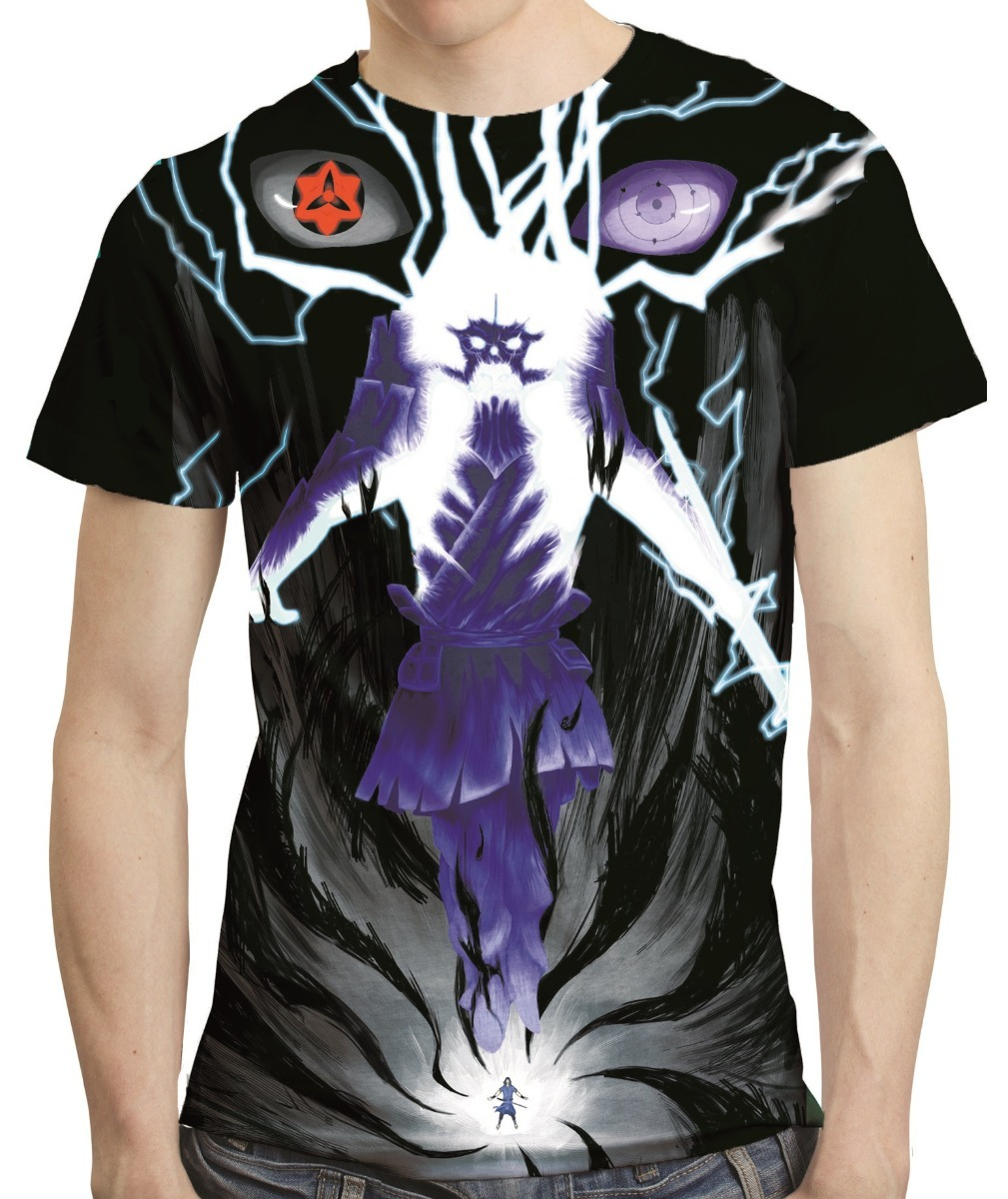 d8198b2fa camisa naruto camiseta sasuke itachi susanoo - estampa total. Carregando  zoom.