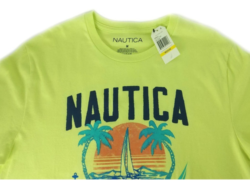 camisa nautica masculina casual tamanho m original