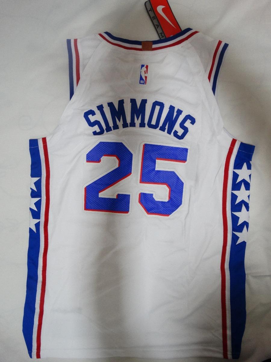 4430cb45bb camisa nba ben simmons 25 philadelphia 76ers basquete. Carregando zoom.