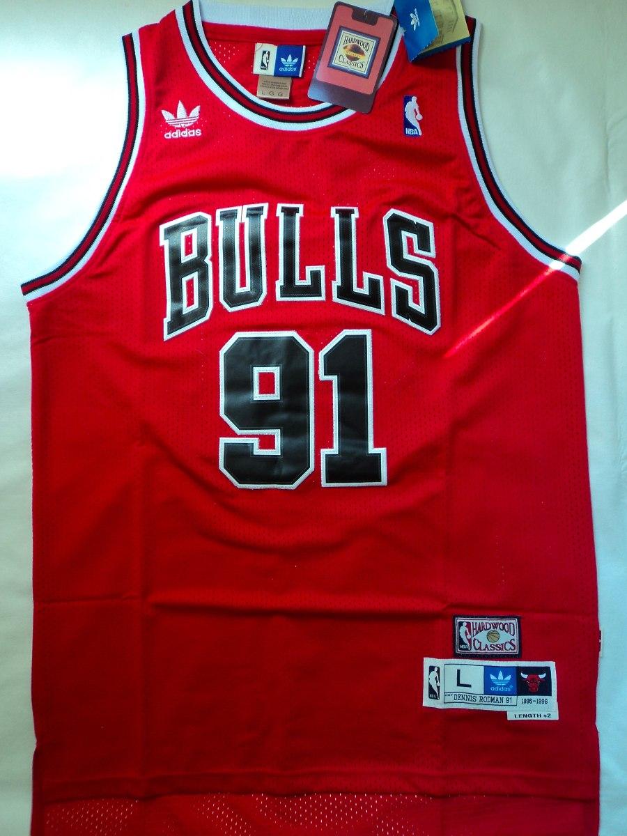 camiseta rodman bulls
