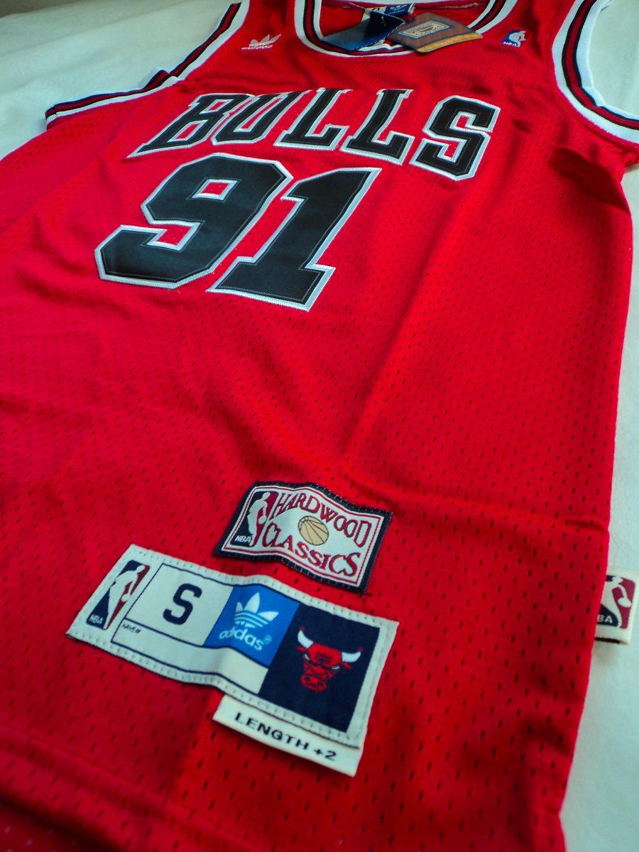 camisa nba bulls dennis rodman  91 - frete grátis - 21sports. Carregando  zoom. 66e83bbb6b5