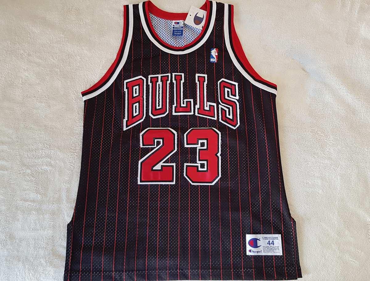 Camisa Nba Chicago Bulls- Michael Jordan  23 - Champion 1998 - R ... 8bad76d4f5b