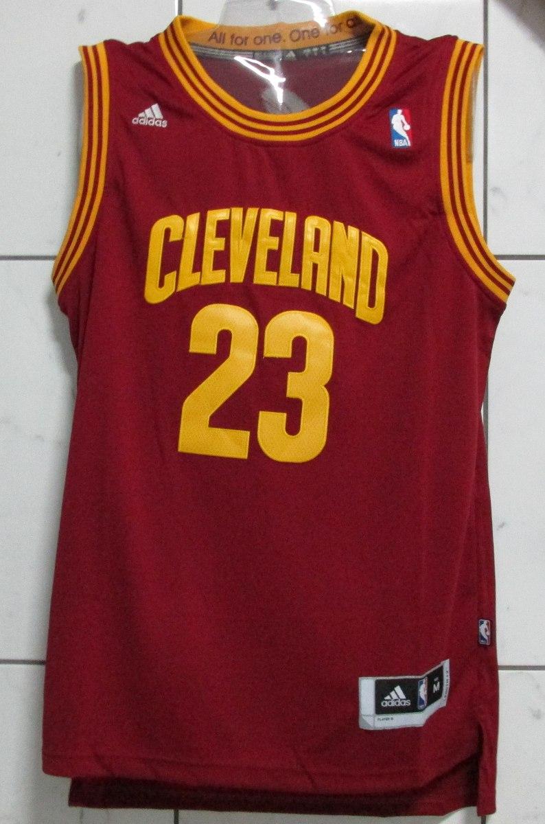 f3b7d9e1b Camisa Nba Cleveland Cavaliers James adidas P Selfiesport - R  159 ...