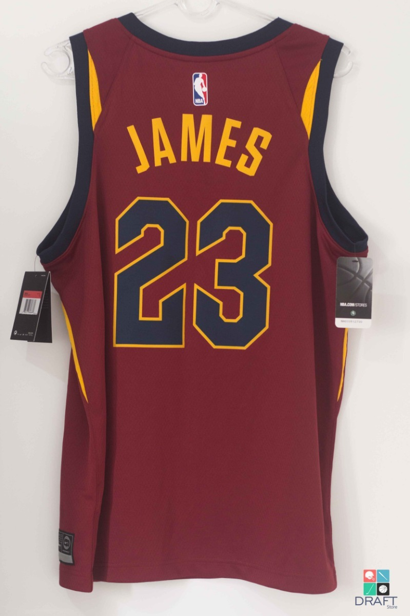 lowest price 6bf37 d1a88 Camisa Nba Cleveland Cavaliers Lebron James Nike Draft Store