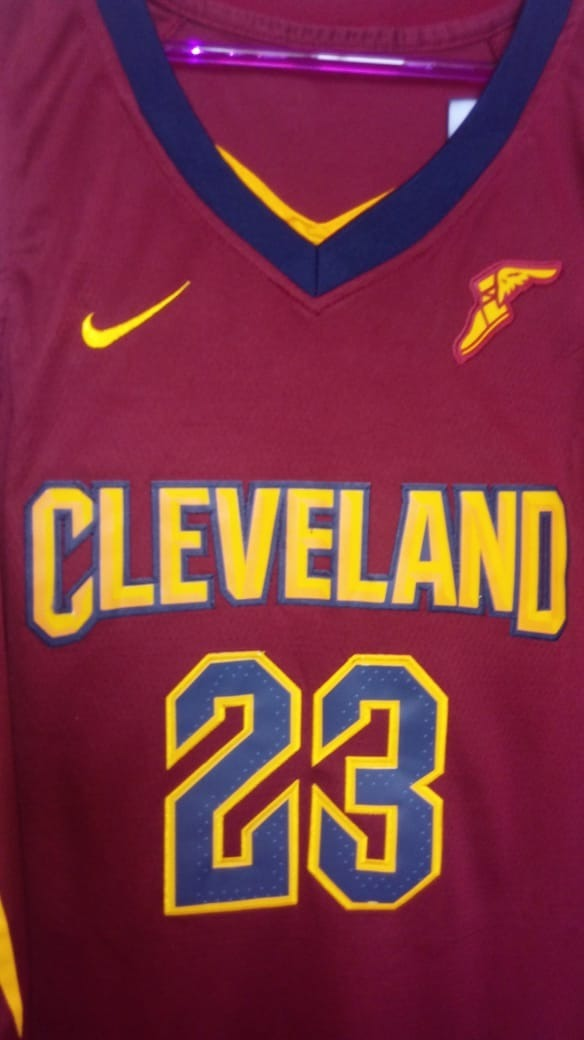 camisa nba cleveland cavaliers lebron james pronta entrega. Carregando zoom. e54f46fa77a7e