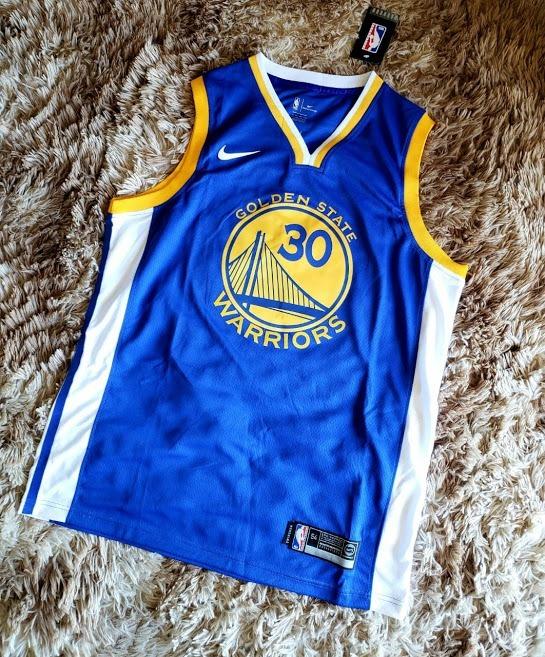 400e2cee5 Camisa Nba Golden State Warriors Curry 30 2019 Oficial Azul - R  229 ...