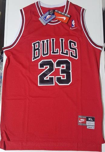 camisa nba michael jordan #23 chicago bulls retro gg xl orig