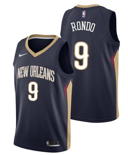 e1117e50e Camisa Nba New Orleans Pelicans - Rondo  9 Frete Grátis - R  129