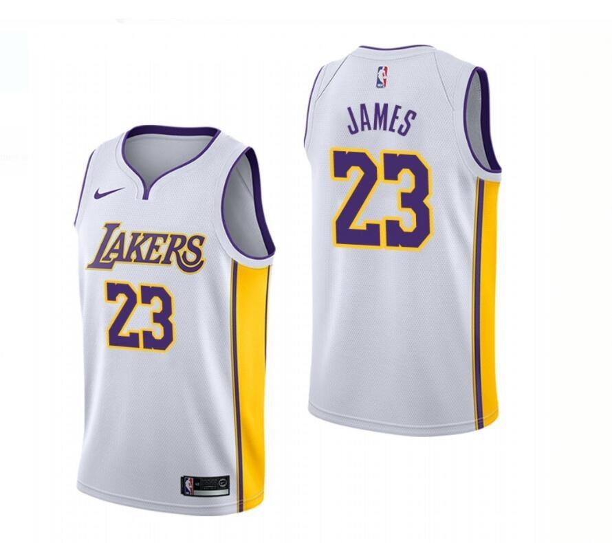 da64e4daf Camisa Nba Nike L.a.lakers 23 Lebron James (frete Grátis) - R  150 ...