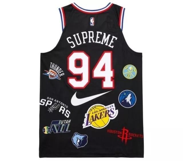 Camisa Nba Supreme 94 Pronta Entrega - R  179 b059ce1dfdf