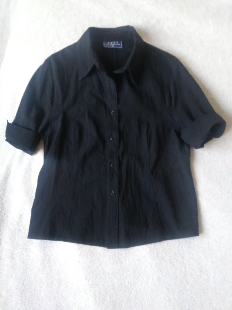 L Cargando Camisa Manga Mujer Zoom Negra Importada T Jazz Corta PTTXwx dc991c465a42a